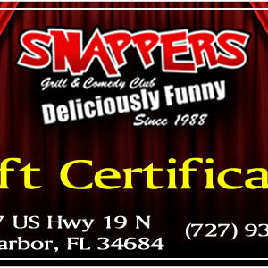 Snappers Gift Certificate